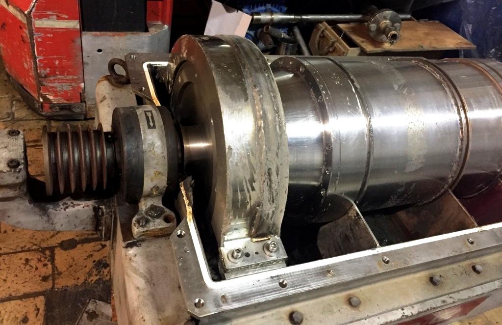 (2) Tomoe PTM 300 (P3000) decanter centrifuges, SS.
