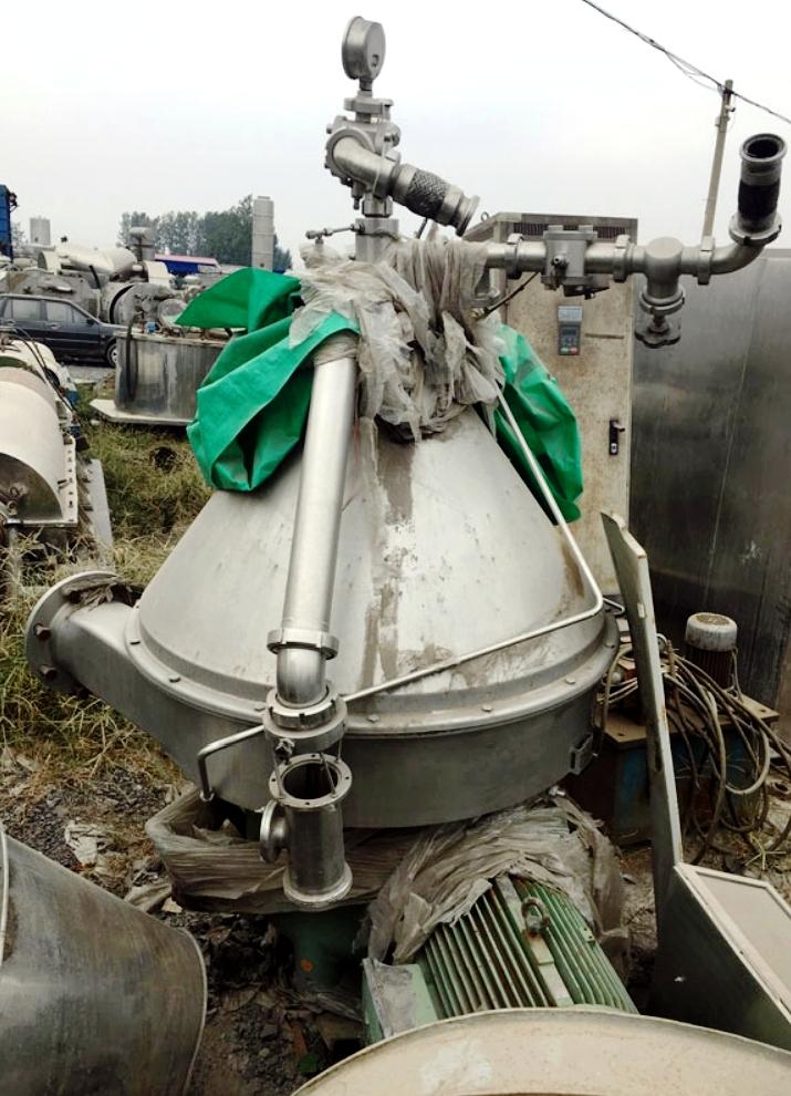 (2) Westfalia RSE 100-01-776 veg oil separators, 316SS.