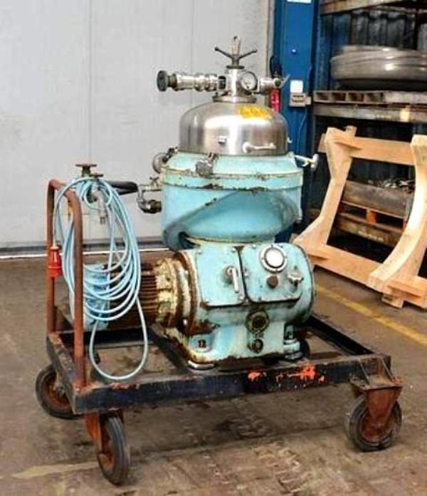 Alfa-Laval CRPX 207-SGP-34 clarifier centrifuge, 316SS.