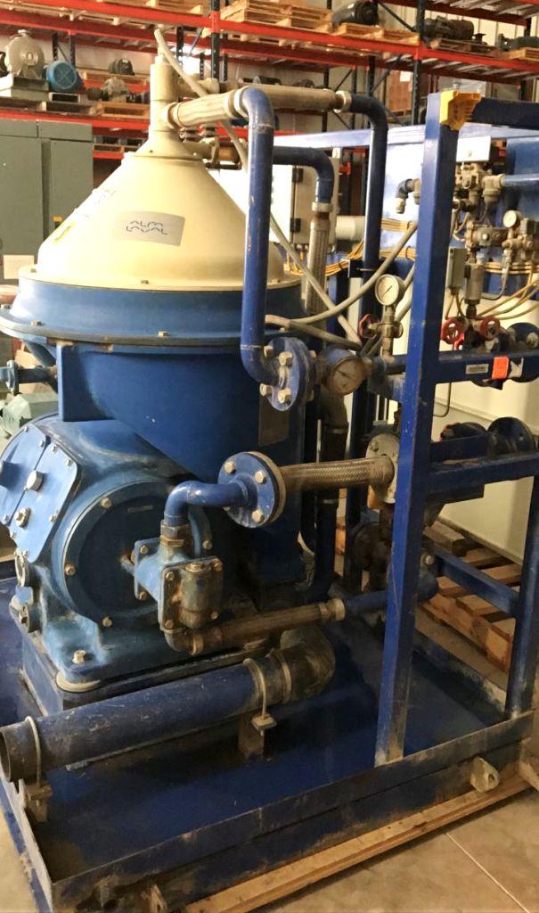 Alfa-Laval MOPX 309 TGT-24-60 oil purifier module, SS.