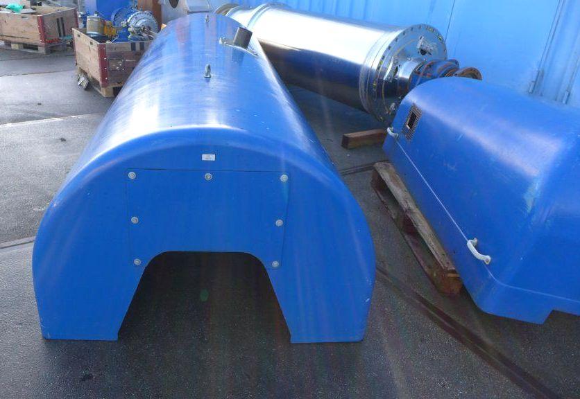 (2) Flottweg Z73-4/451 decanter centrifuges, 316SS.