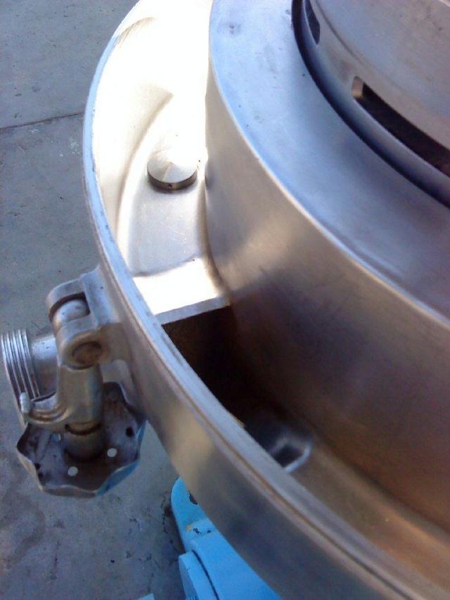 Alfa-Laval BRPX 207-34S-60 clarifier centrifuge, 316SS.