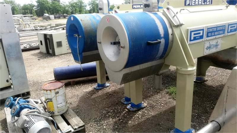 (2) Pieralisi FP 600 2RS decanter centrifuges, 316SS.