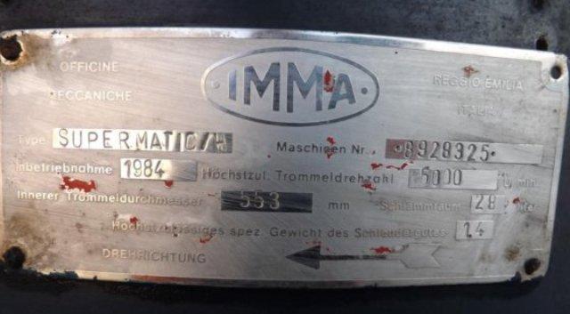 (2) IMMA Supermatic/H wine clarifiers, 316SS.