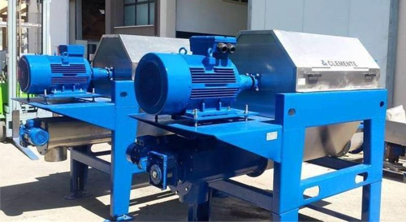 (3) Clemente Galaxy 2 olive pomace separators, 304SS.