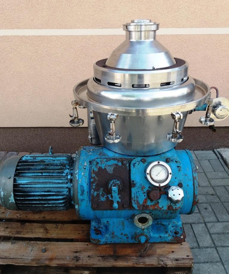 Alfa-Laval BRPX 309 clarifier centrifuge, 316SS.