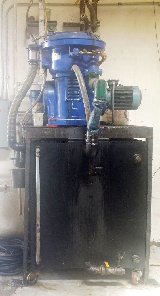 (2) Alfa-Laval MAPX 207 SGT-29-60 oil purifier, SS.