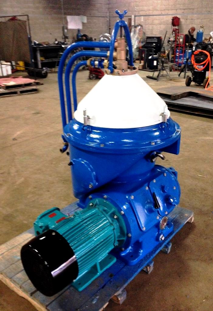 Alfa-Laval WHPX 510 TGD-29-60 oil purifier, SS.