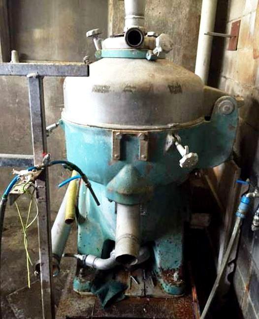 Alfa-Laval TX 310-37SH nozzle centrifuge, 316SS.