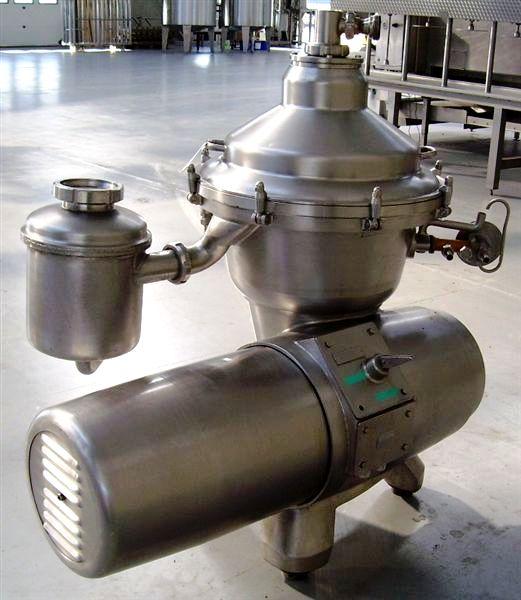 (2) Alfa-Laval MRPX 409 SGV-34 clarifiers, 316SS.