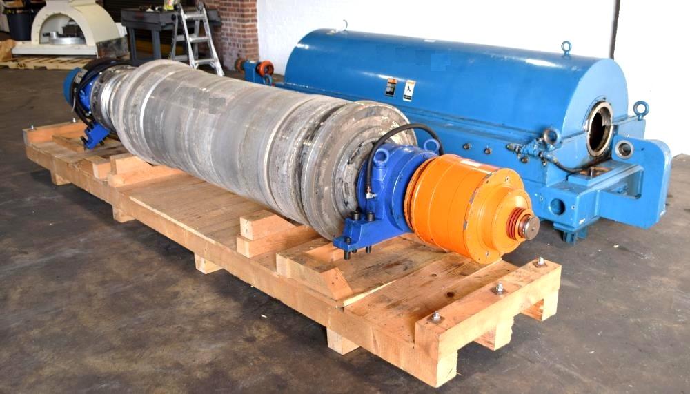 Alfa-Laval/Sharples DS-406 Super-D-Canter centrifuge, 316SS.