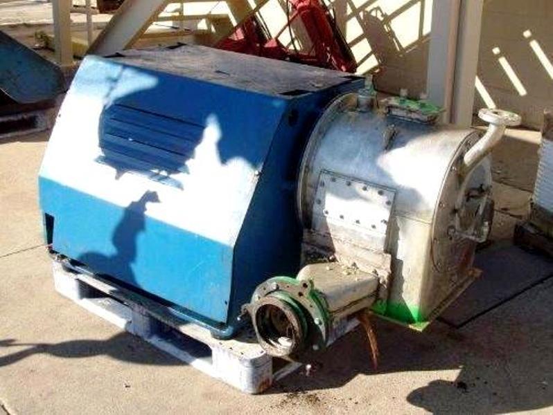 (2) Krauss-Maffei SZ 21 single-stage pusher centrifuges, SS.