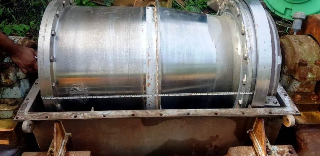 (3) Bird 24 x 38 decanter centrifuge, SS.