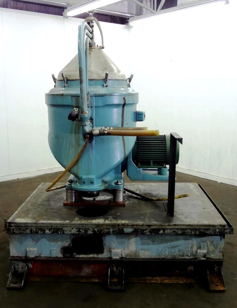 Alfa-Laval MAPX 313 TGT-29-60 oil purifier, 329SS.