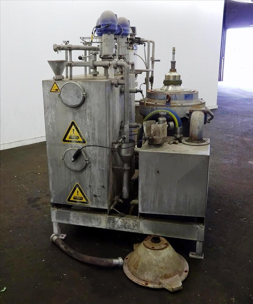 Alfa-Laval WSPX 307 TGD-71G oil concentrator, SS.
