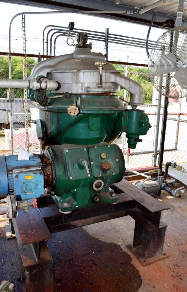 Alfa-Laval MAPX 309 BGT-14-60 oil purifier, SS.