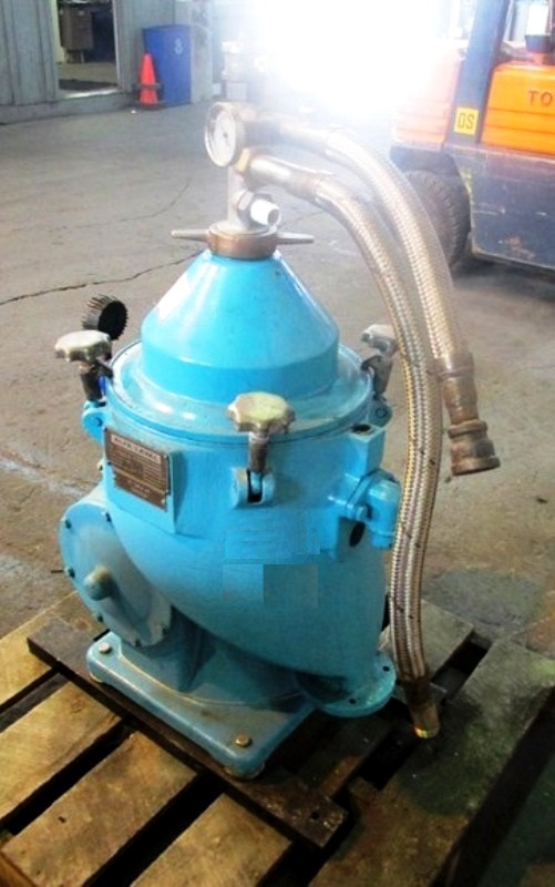 Alfa-Laval MAPX 204 TGT-24-60 oil purifier, SS.