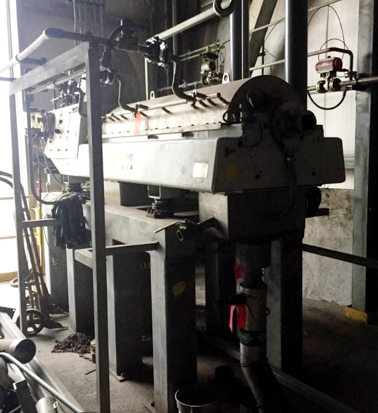 (2) Westfalia CF 4000 decanter centrifuges, 316SS.