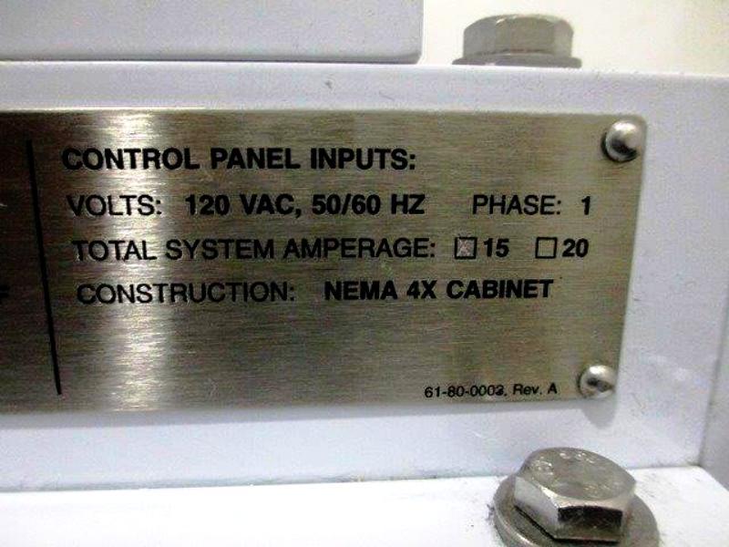 (2) Carr Pilot Powerfuge systems, 316L SS.