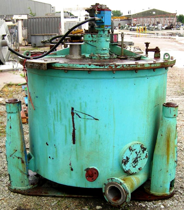 (2) ATM 48 x 30 perforate basket centrifuges, Hastelloy C276.