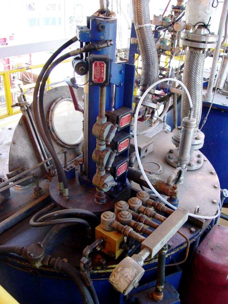 Ametek 48 x 24 perforate basket centrifuge, 316SS.