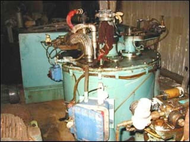 (2) De Laval 36 x 20 solid basket centrifuges, 316SS.