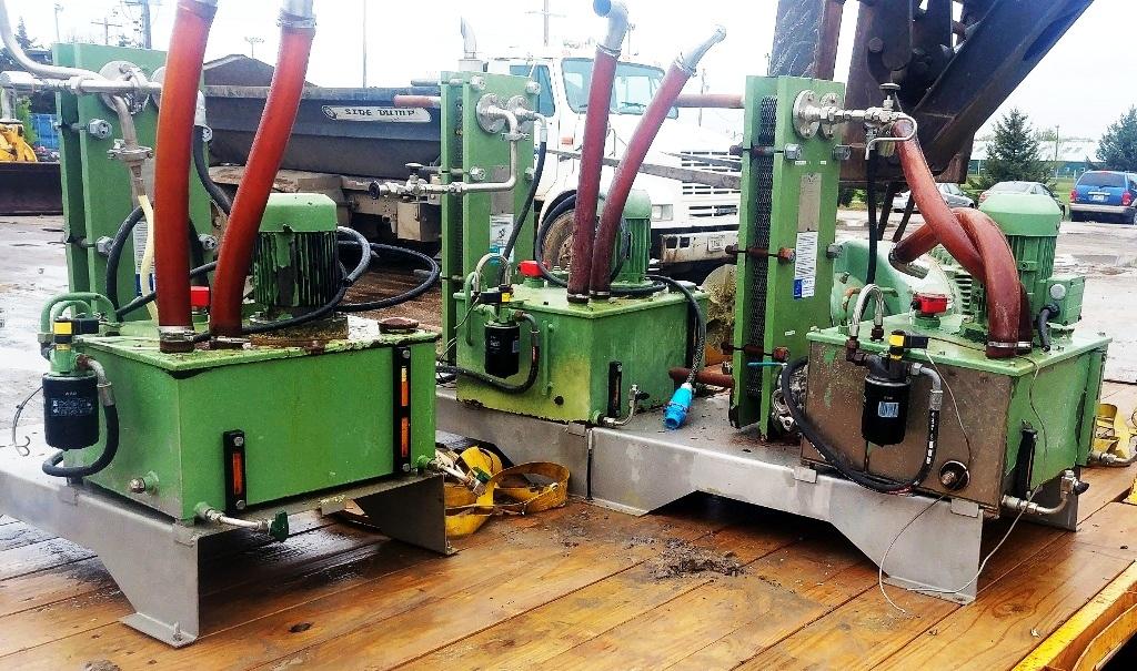 (3) Westfalia CB 505-71-32 decanter centrifuges, 316L SS.