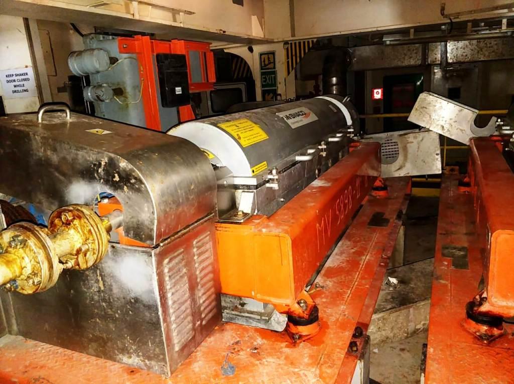 (2) Swaco 518 FH HV oilfield decanter centrifuges, 316SS.