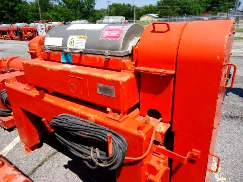 Alfa-Laval DMNX 414B-31G oilfield centrifuge, 316SS.