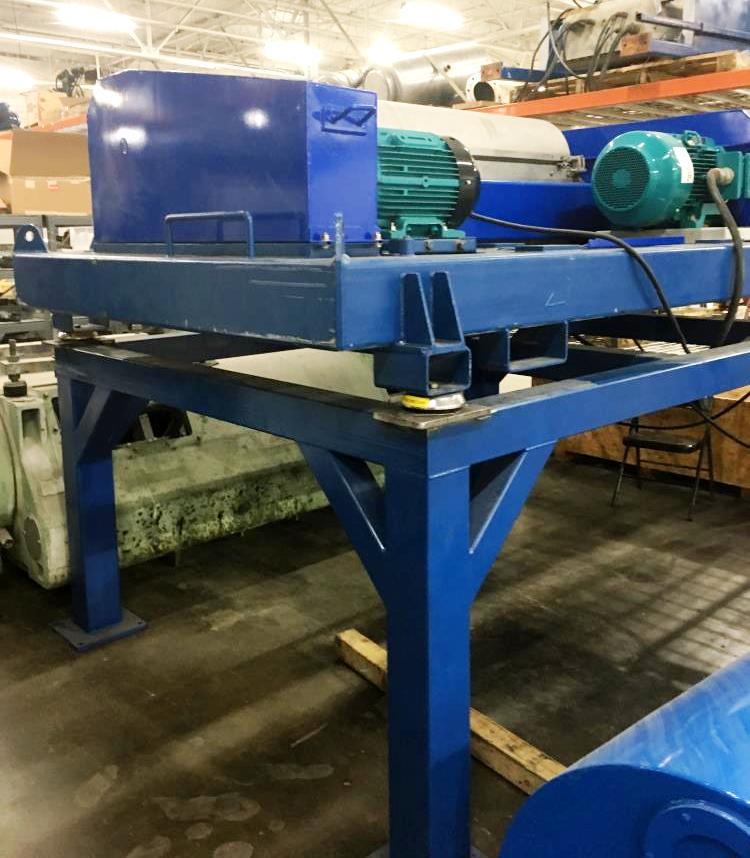 Alfa-Laval DMNX 418B-31G drilling mud centrifuge, 316SS.