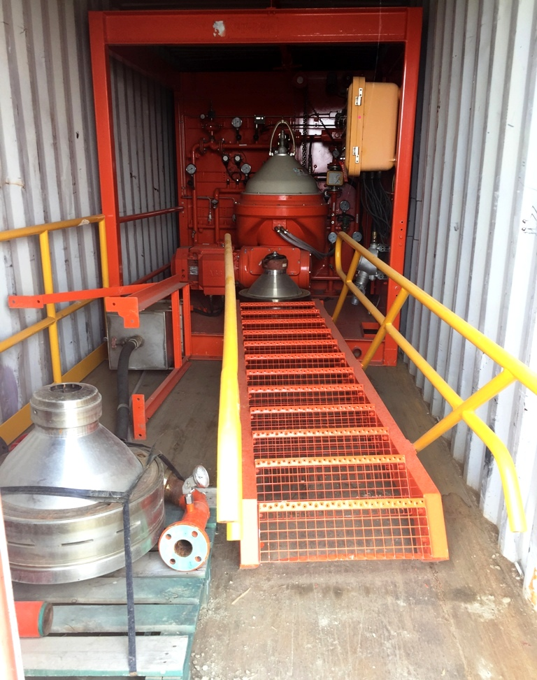 Alfa-Laval OFPX 413 TGD-24CGX oil purifier, 316SS.