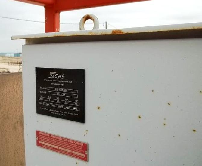 (2) Swaco CD 518 HV Slimline decanter centrifuges on trailer, SS.