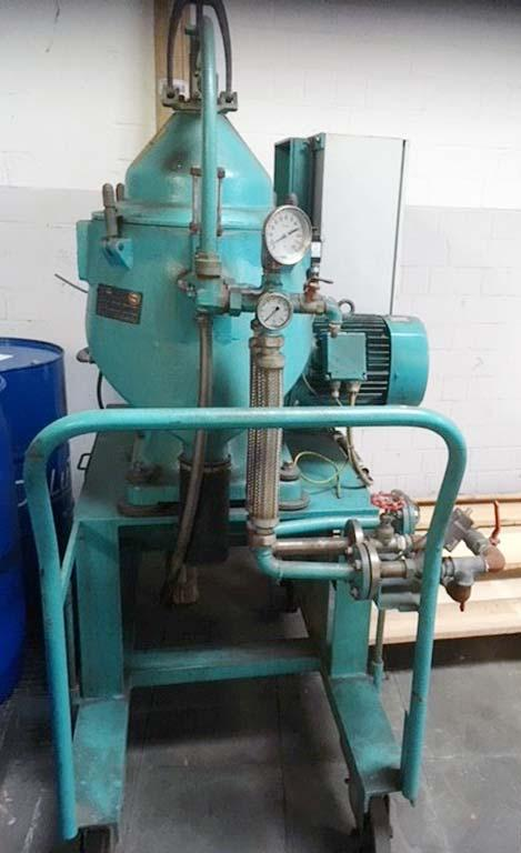 Alfa-Laval WHPX 505 TGD-24-60 oil purifier, SS bowl.