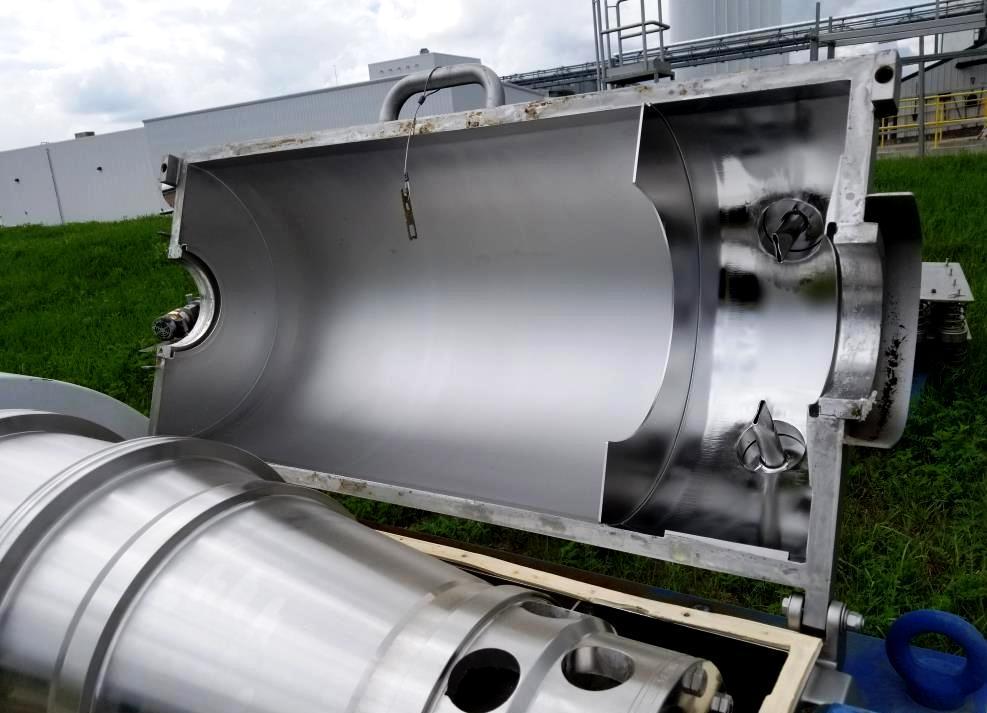 Alfa-Laval NX 414B-31G decanter centrifuge, 316SS.