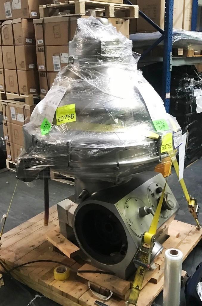 Alfa-Laval MRPX 318 HGV-74C cold milk separator, 316SS.