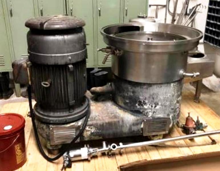 (2) Westfalia SA 45-06-177 clarifier centrifuges, 316SS.