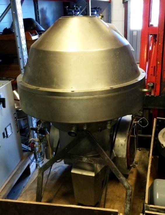 Alfa-Laval SRPX 614 HGV-14H vegetable oil separator, 316SS.