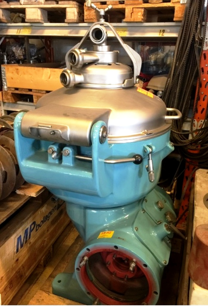Alfa-Laval SRG 214H-14CH-50 hermetic separator, 316SS.