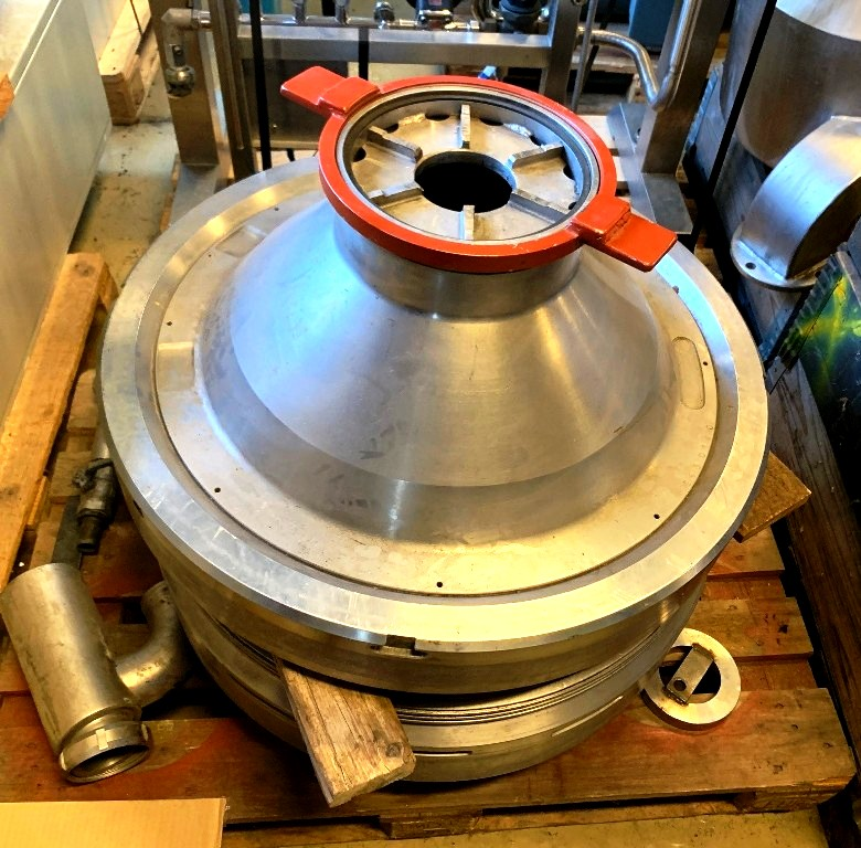 Alfa-Laval MRPX 317 SGV-34C whey clarifier, 316SS.
