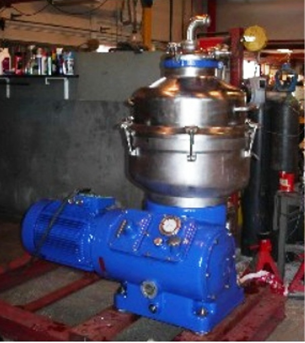 (3) Alfa-Laval FESX 412S-34 nozzle centrifuges, 316SS.