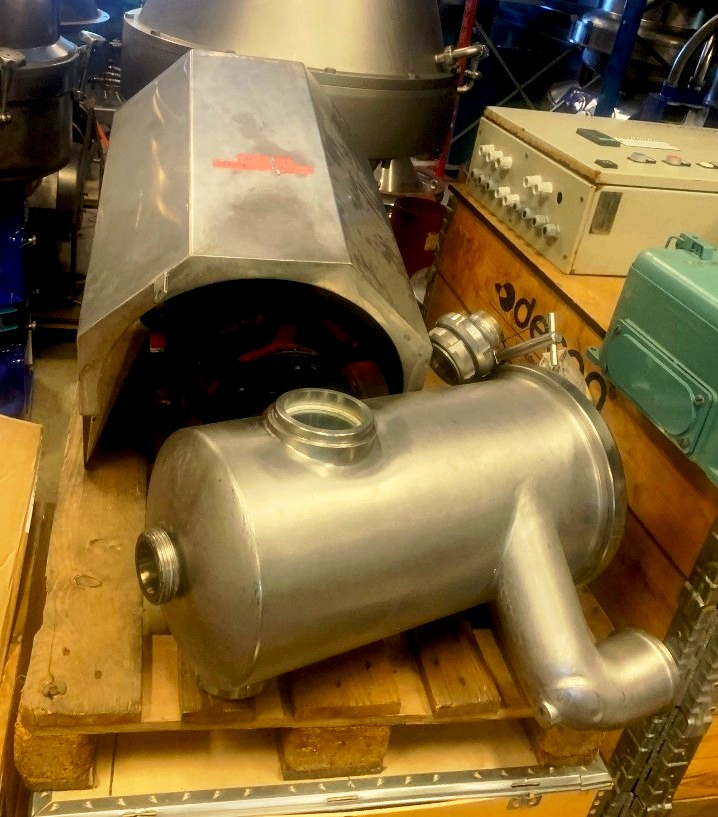 Alfa-Laval MRPX 413 SGV-34 clarifier centrifuge, 316SS.