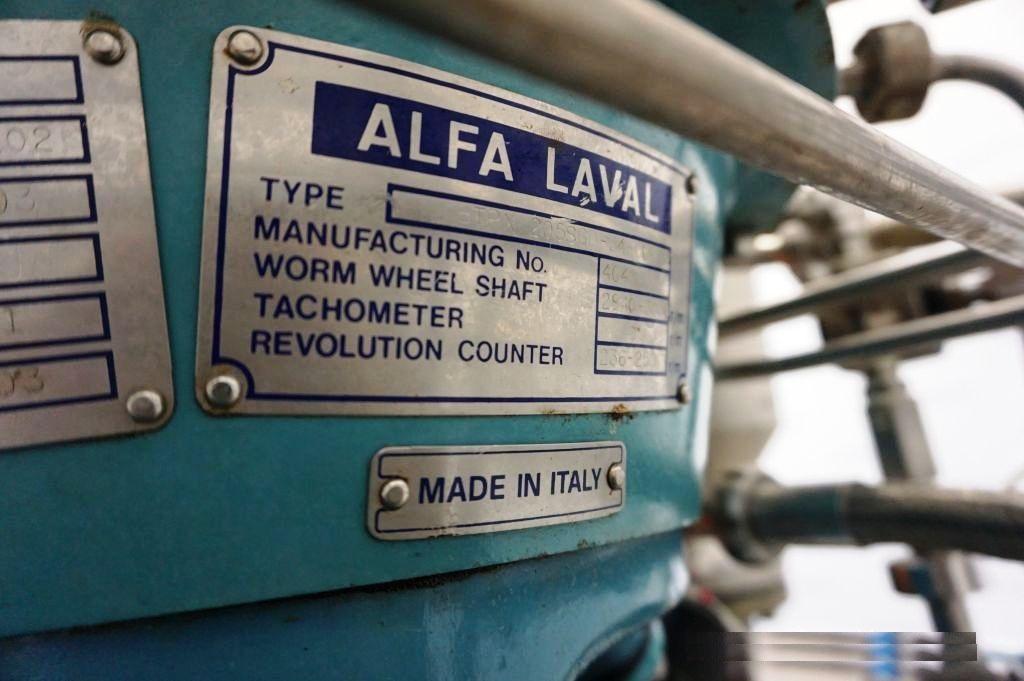 Alfa-Laval BTPX 205 SGD-34 CDP-50 clarifier skid, 316SS.