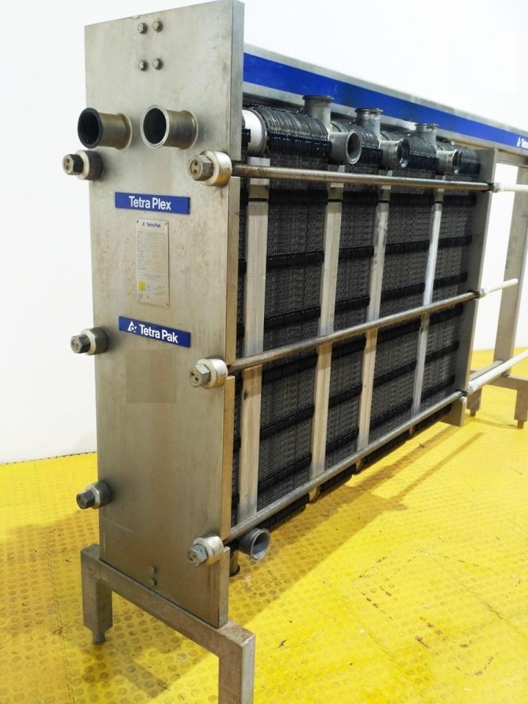 Alfa-Laval C8-KSR multi-section plate heat exchanger, SS.