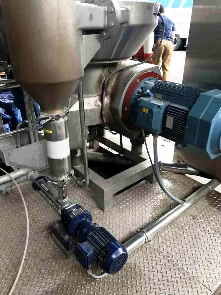 Alfa-Laval DMRPX 810 HGV-34C milk clarifier, 316SS.