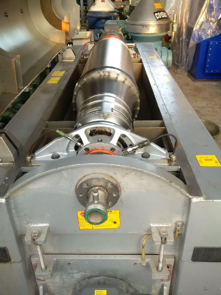 (2) Alfa-Laval FOODEC 310M decanter centrifuges, 316SS.