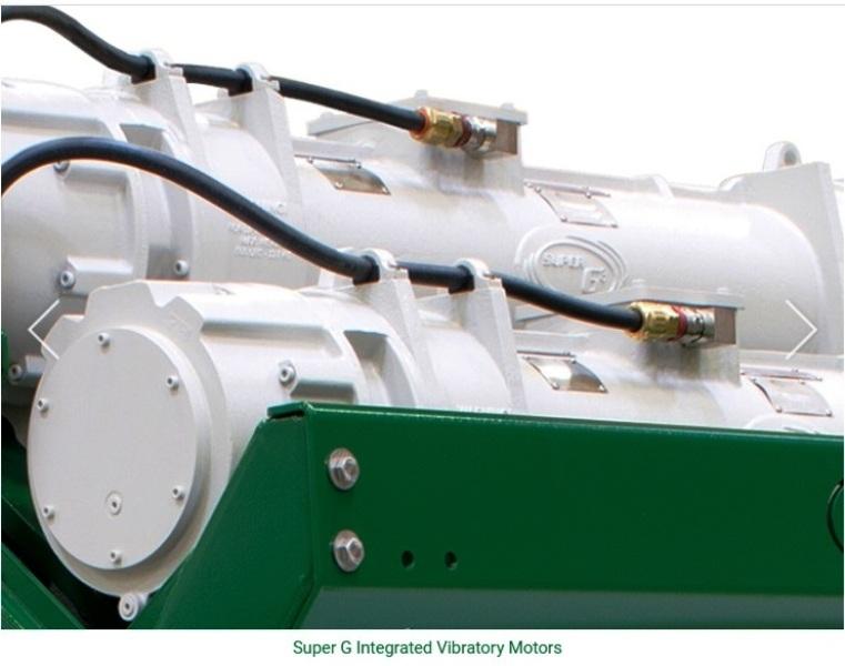 (3) Derrick DP 600 dual pool mud cleaner shakers.