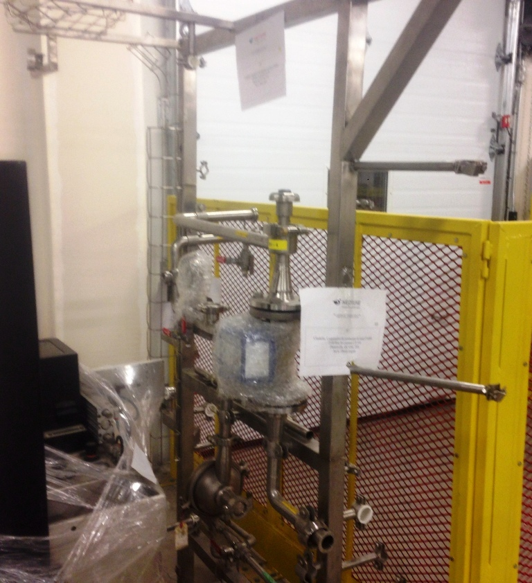 Alfa-Laval CHB 209T-75 CEFP solid bowl separator, 316SS.