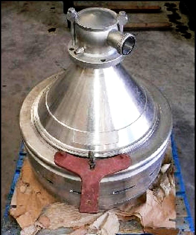 Alfa-Laval BMRPX 618 HGV-14C-50 bactofuge, 316SS.