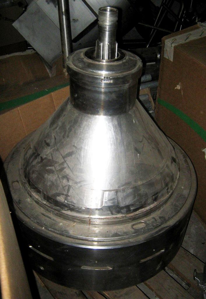 Alfa-Laval MRPX 418 SGV-34C Bactofuge, 316SS.