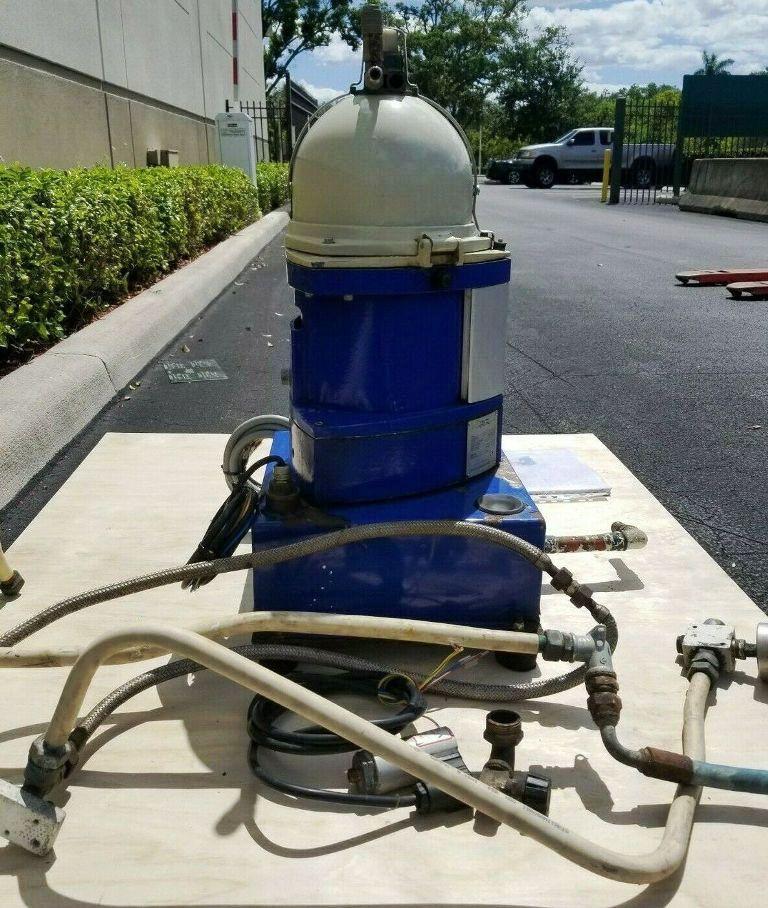 Alfa-Laval EMMIE MIB 303S-13/33 oil purifier, 316SS.